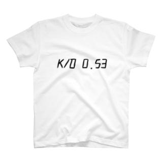 キルレ 0.53 T-shirts