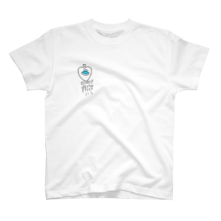 ハート kokoronimonai happy T-shirts