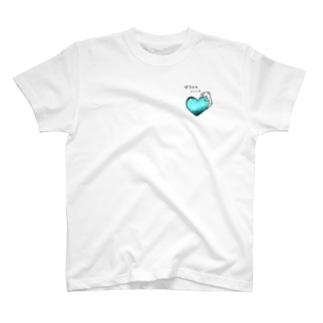 ガラスのハートいぬとろ T-shirts