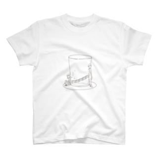 終電はウーロンハイの底に T-shirts
