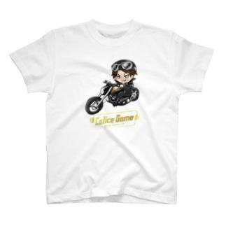 バイカーカリスTシャツ B T-shirts