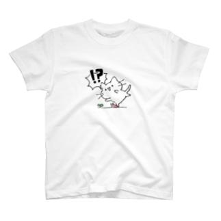 前方注意猫 T-shirts