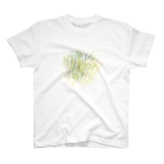 草をじっと T-shirts