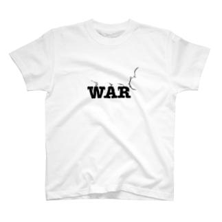 NO WAR T-shirts