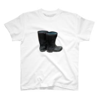 長靴 T-shirts