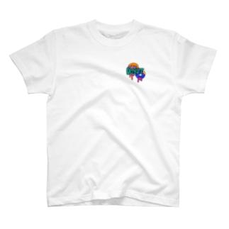 CHURCH ZOMBEE GIRL  T-shirts
