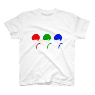 カラフルマッシュくん T-shirts