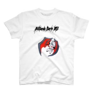 ゾンビパンダです T-shirts