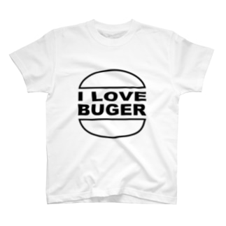 I LOVE BUGER T-shirts