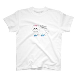 ローラーねこちゃん T-shirts