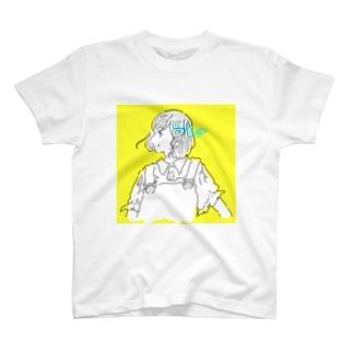 ボブイエローガール T-shirts