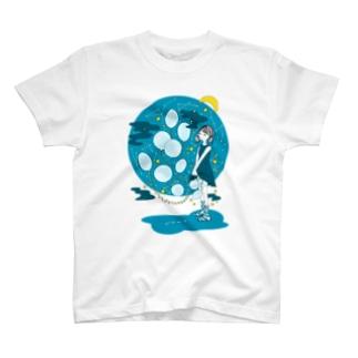 こぼれ落ちる T-shirts