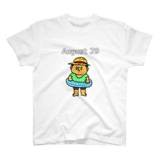 8月29日の気持ち T-shirts