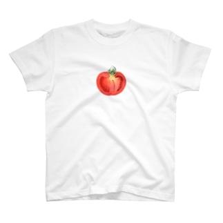 トマトの断面 T-shirts