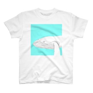 くじらのくー T-shirts