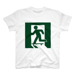 スケートピクト T-shirts