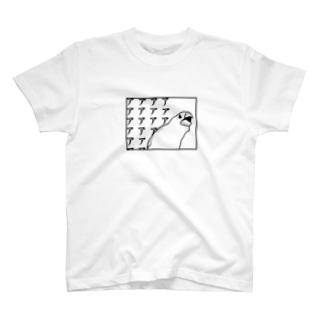 チンピラ文鳥 T-shirts