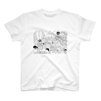 Lanka イラストチャリ T-shirts