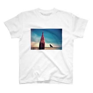 新宿の時計台  T-shirts