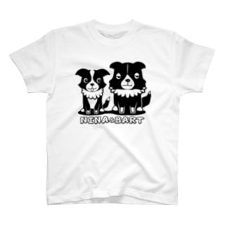【nina&bart】ニナとバート T-shirts