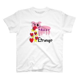 吐瀉豚 T-shirts