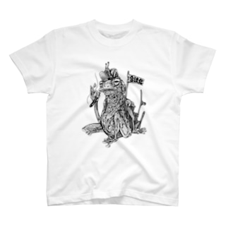 SH11NA WORKS - CHILL FROG T-shirts