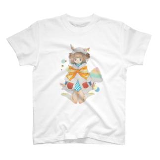 ひつじわたあめ少女 T-shirts