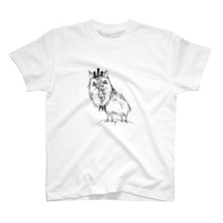 山川谷かもしか T-shirts