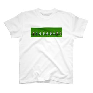 歴代フェイマススキン T-shirts