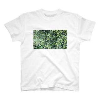 丸葉っぱ T-shirts