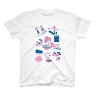 ニコニコ生放送記念期間限定デザイン~A柄~ T-shirts