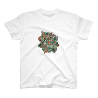 サバゲカラー T-shirts