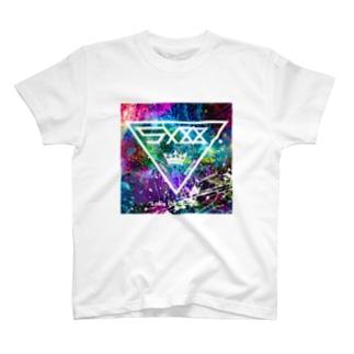トライアングル  Tシャツ ホワイト T-shirts