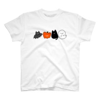 ハロウィンの仲間たち T-shirts
