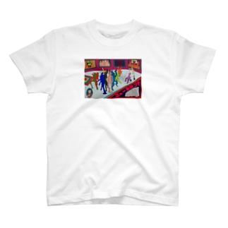 ニューヒトタチ画 T-shirts