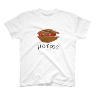 ホットドッグ のらしおん T-shirts