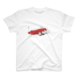 RED BLUES T-shirts