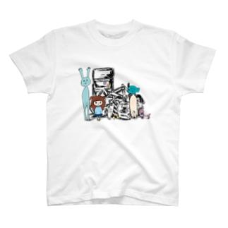 ごみ溜めの住人たち T-shirts