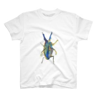 ニジイロクワガタT T-shirts