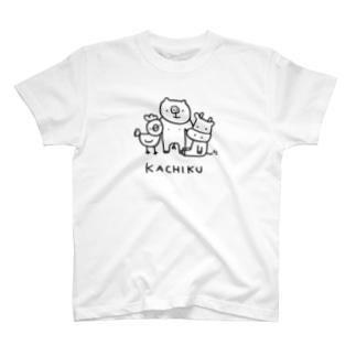 KACHIKU T-shirts
