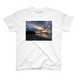 guam sunset T-shirts