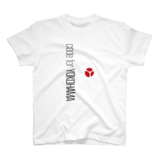 C4YのCode for Yokohama スマホケース T-shirts