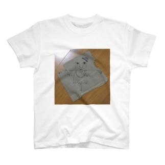 Mr.Kと箱夫のラクガキ T-shirts