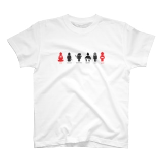 JAPANSE PERSON T-shirts