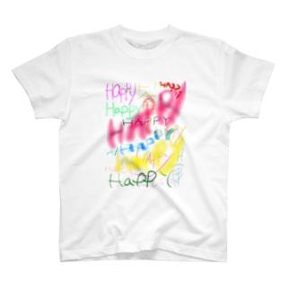 HAPPY★ T-shirts