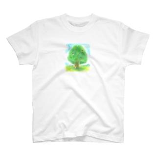 大きな木とかくれんぼ T-shirts