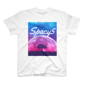 Spacy5 Official OnlineのSpacy5 イメージロゴ T-shirts
