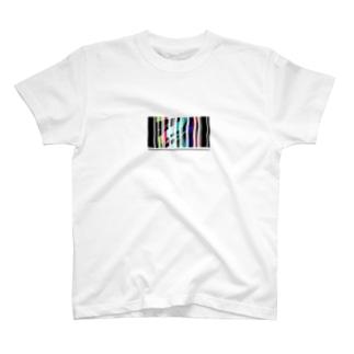 カラーバーコード T-shirts