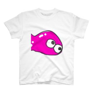4人そろうと消える[4] T-shirts