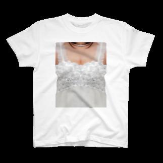 上田真実 mamitaの誰でも花嫁 T-shirts